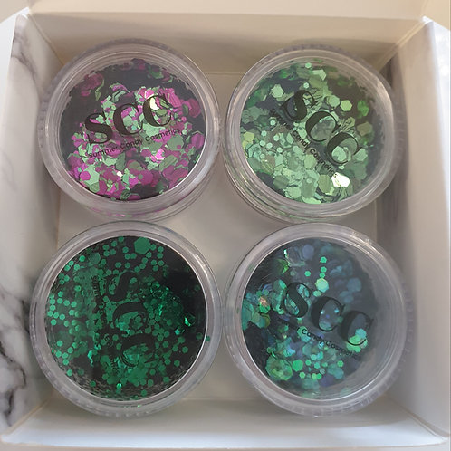 Gra's Natural Beauty Collection Glitters
