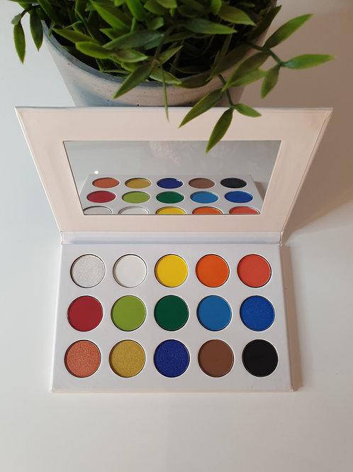 'Be My Lovebird' 15 shade eyeshadow palette