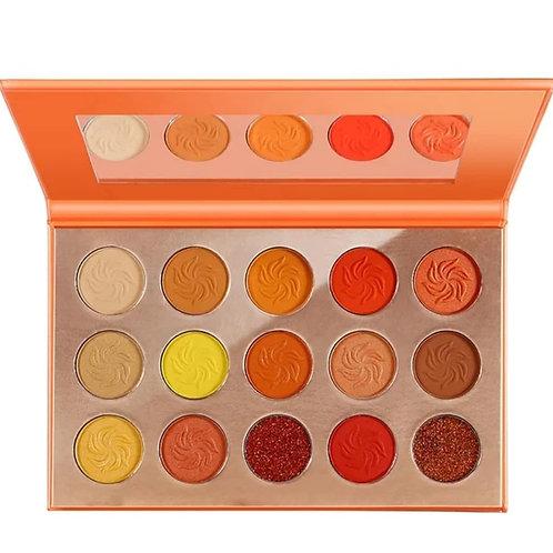 'Sunset Glow' 15 shade eyeshadow palette