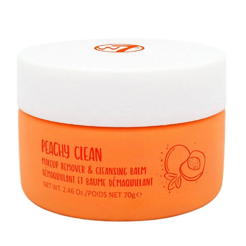 W7 Peachy clean makeup remover & cleansing balm