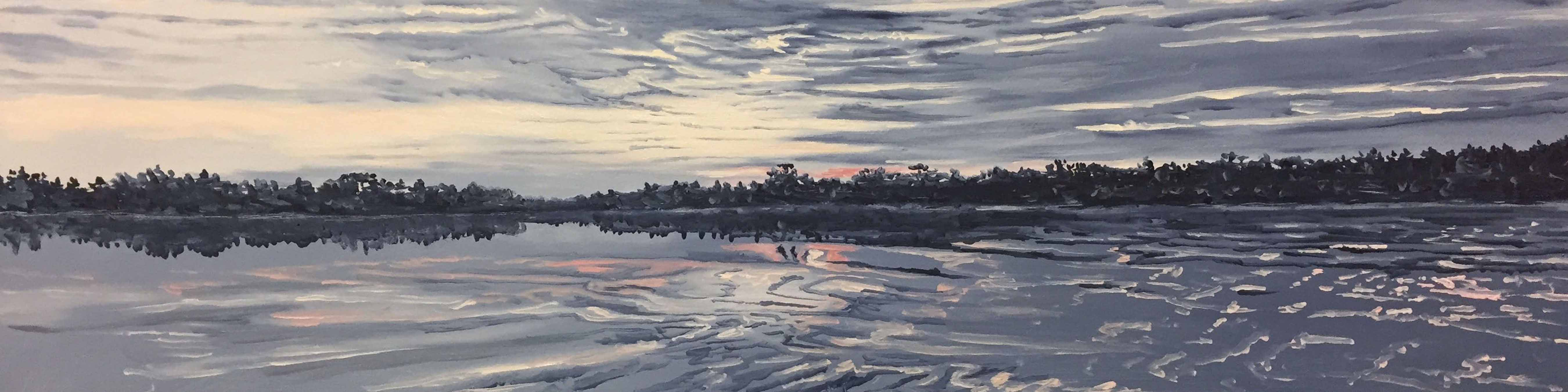 Long Pond Sunset