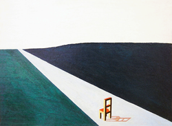 Chair on Road