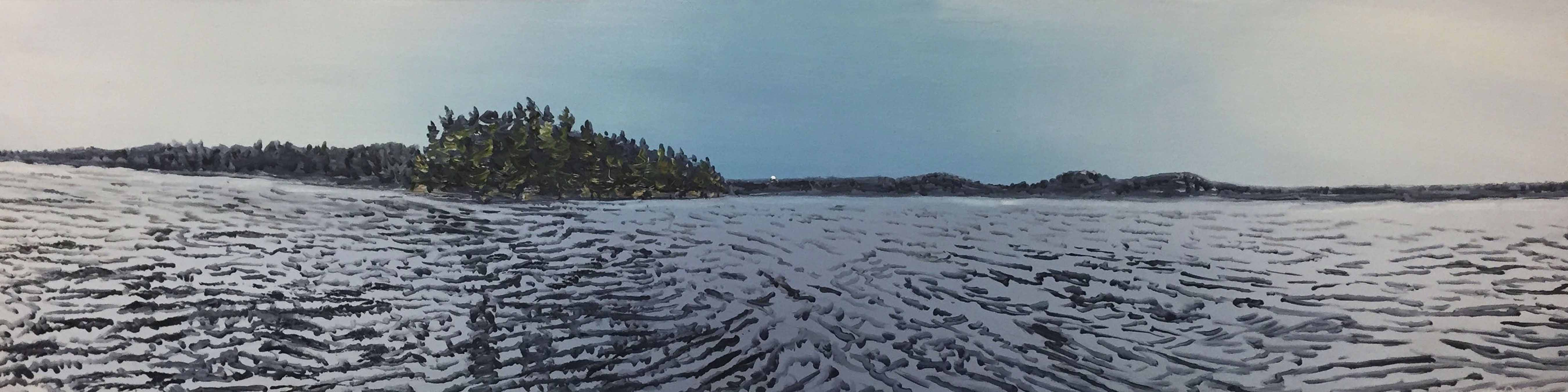 Long Pond Moonrise