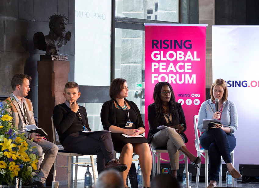 'How are practitioners prepared for peacebuilding?'