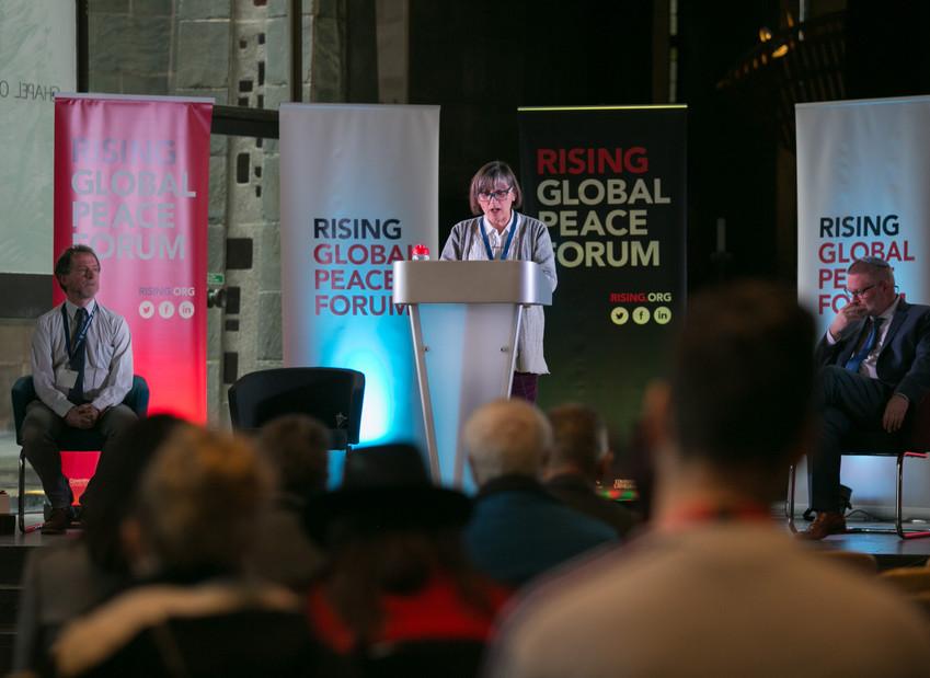 'Faith, Inequality and Peace'