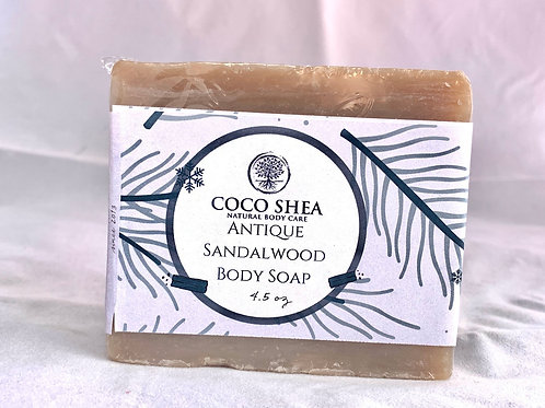 Antique Sandalwood Body Soap (Vegan)