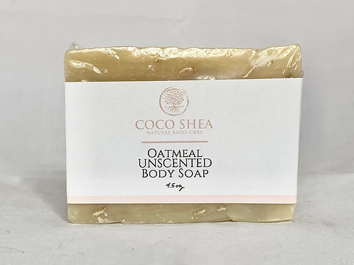 Oatmeal Unscented Body Soap