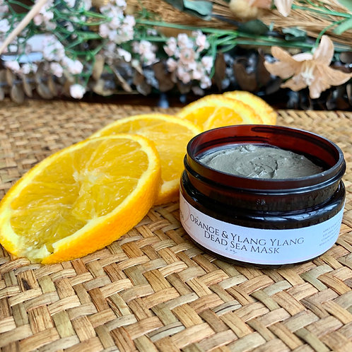 Dead Sea Mask w/Ylang-Ylang and Sweet Orange