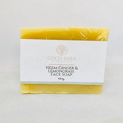 Neem-Ginger & Lemon Face Soap