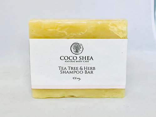 Tea Tree & Herb Shampoo Bar