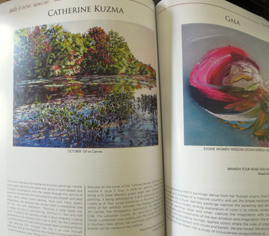Art and Beyond magazine feature