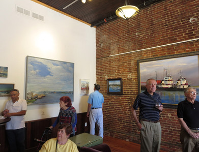 Camden Fireworks Gallery Exhibit