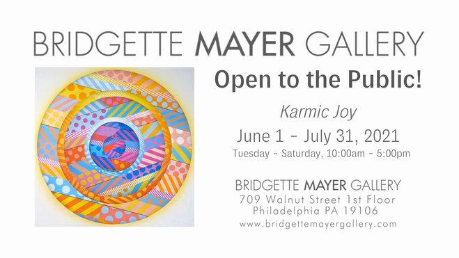 Bridgette Mayer Gallery Open to the Public