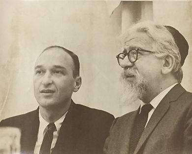 Rabbi Joe w Rabbi Abraham Joshua Heschel