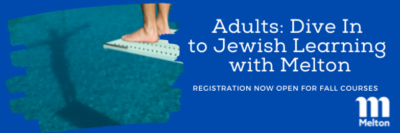 Dive In to Jewish Learning with Melton.png