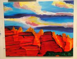 Dreamy Sedona Sky