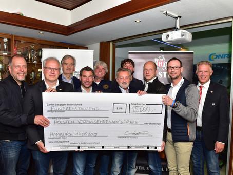 FSV Geesthacht erhält den Ehrenamtspreis für Fußballer!