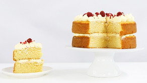 Moist Vanilla Cake! Perfect for Layer Cakes - Recipe & Video