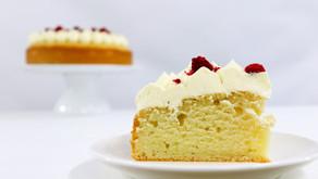 Easy Eggless Vanilla Cake! Recipe & Video