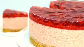 Ultimate Strawberry Cheesecake!