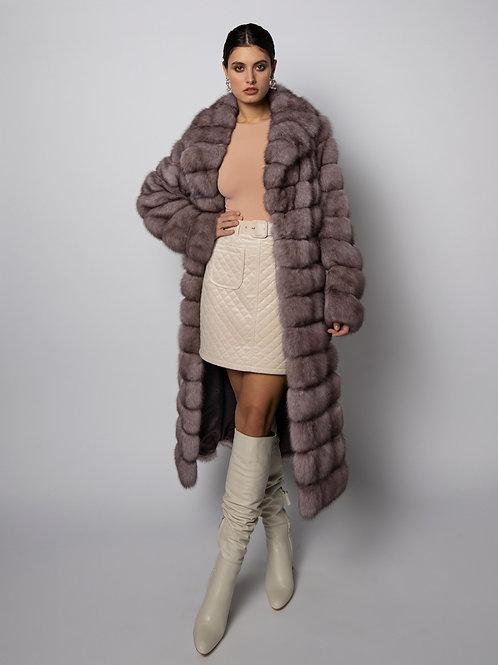 Пальто из соболя
