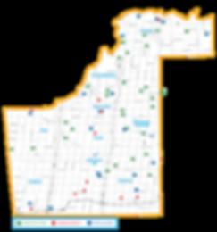 York Farm Fresh - 2018 Guide Map