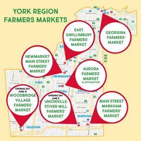 2019 Farmers Markets in York Region