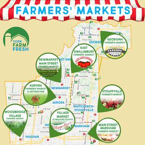 Farmers' Markets - 2021