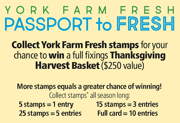 York Farm Fresh - Passport to Fresh