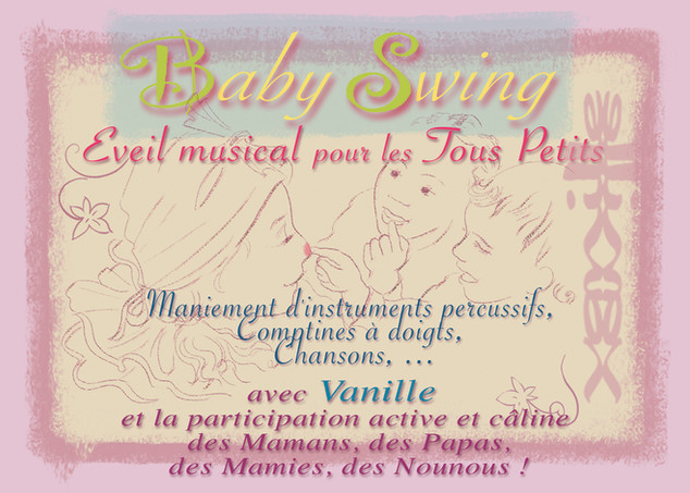 Flyer Baby Swing recto 2018
