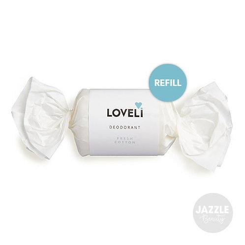 Loveli Deodorant Fresh Cotton REFILL