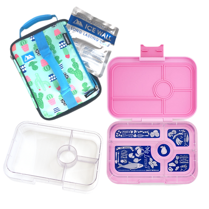 CACTUS Yumbox Large Lunch Bundle Pack