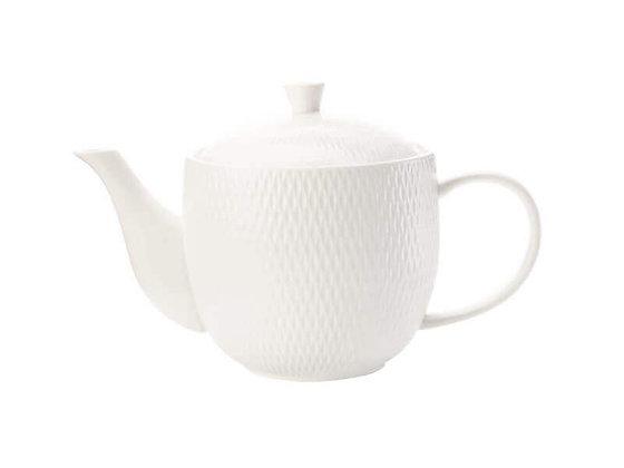 White Basics Diamonds Teapot 800ML