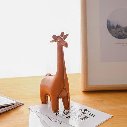 Paperweight Classic Giraffe Tan