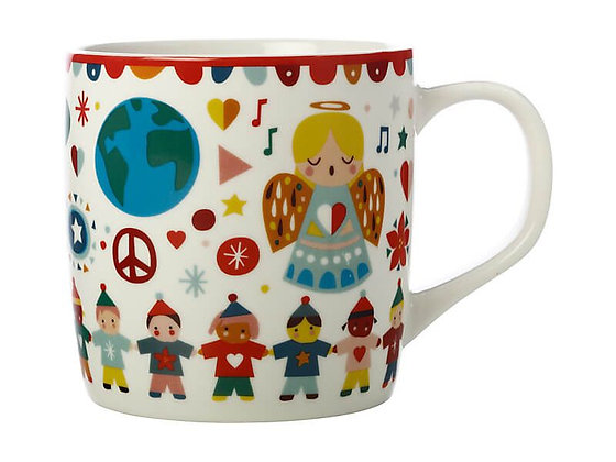 Festive Friends Mug 375ML Peace Gift Boxed