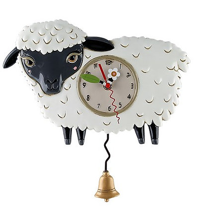 Black SHEEP Clock