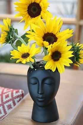 EUGENIE black- Planter/Vase