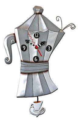 BREW POT Clock