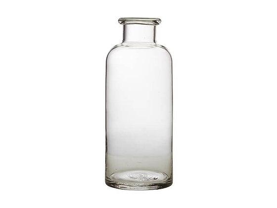 Flourish Bottle Vase 30cm Clear