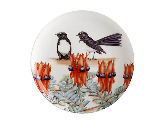 Royal Botanic Gardens Plate 20cm Willy Wagtail Gift Boxed