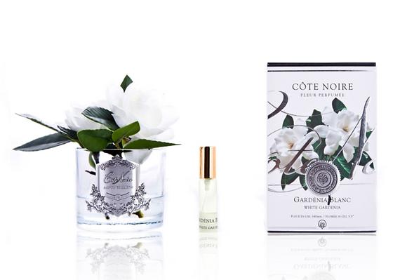 Double White Gardenia - Frost Glass