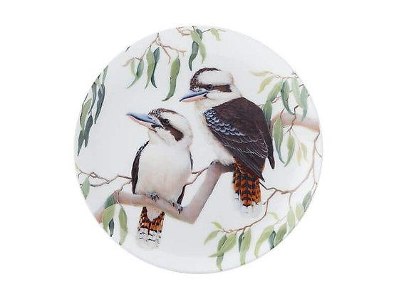 Cashmere Birdsong Plate 20cm Kookaburra