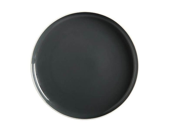 Tint High Rim Plate 20Cm Charcoal