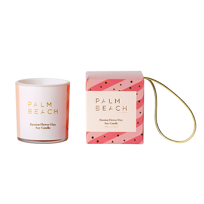 Hanging Bauble - 50g Extra Mini Candle - Passion Flower Fizz