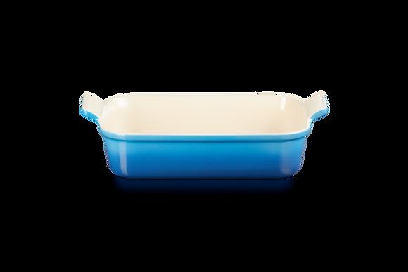 Heritage Deep Rectangular Dish 26 - Marseille Blue