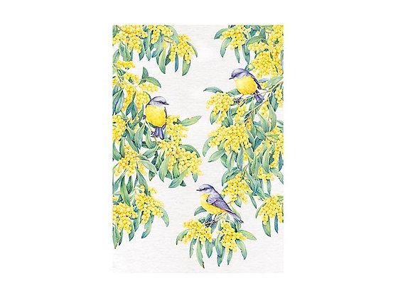 Royal Botanic Gardens Tea Towel 50x70cm Robin