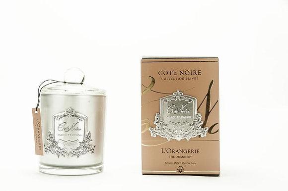 450 Orangerie - SILVER Candle
