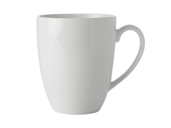 White Basics Coupe Mug 450ML