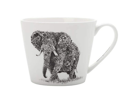 Marini Ferlazzo Mug African Elephant 450ML Sqt