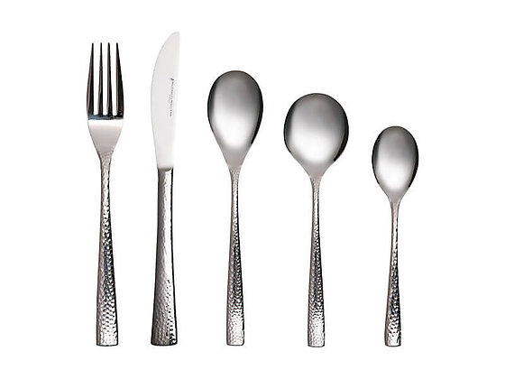 Wayland Hammered Cutlery Set 36pc Gift Boxed